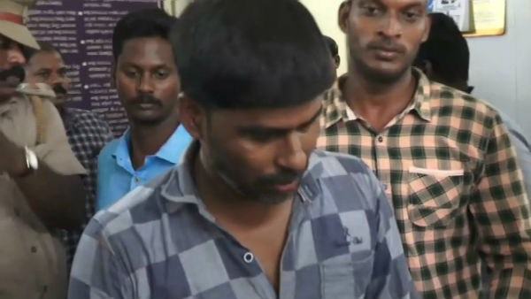 Thief arrested for stealing lab tops at Puducherry bus stand