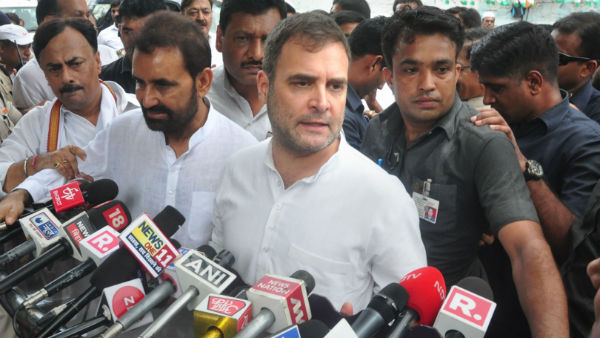 If talk against RSS and Modi ideologies cases filed.. Rahul Gandhi interview