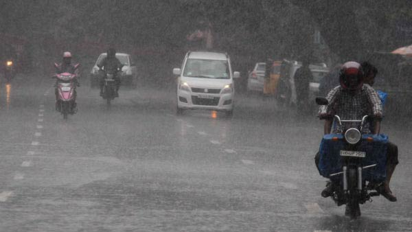 Rain continue in Chennai after night .. People cheering