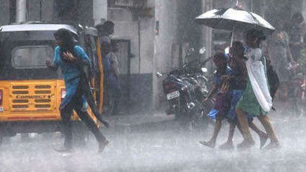 The People pleasure widespread rainfalls In Chennai
