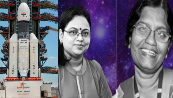 20 ஆண்டு இஸ்ரோ சேவை.. சந்திரயான் 2 குழுவில் முக்கிய பங்கு.. கலக்கிய இரு பெண்மணிகள்!