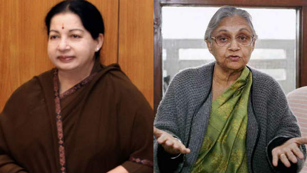 Jayalalitha and Sheila Dikshit, who has been the cm of state for most of the female leaders..