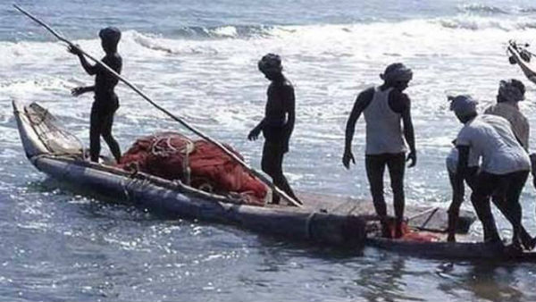 Reported to be fishing across the border.! Tamil Nadu fishermen arrested by SriLankan navy