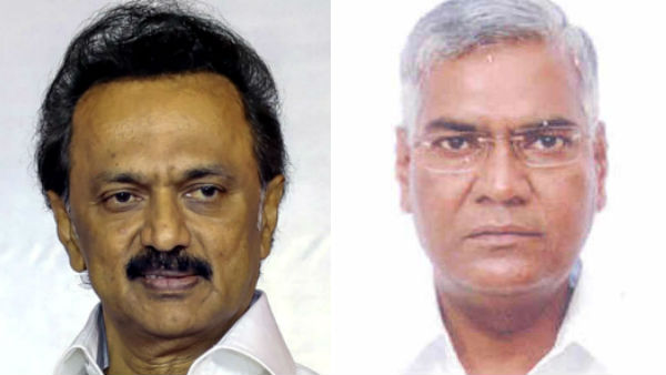 DMK leader M K Stalin Congratulates CPI National Secretary D. Raja