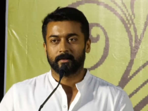 Thanks to Kamal Haasan For Supporting Me Says Actor Surya