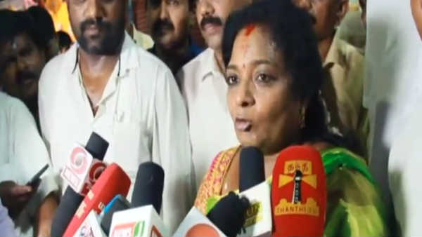 Stalin tries to make party leader ineligible for Prime Minister .. tamilisai soundararajan