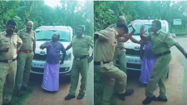 Viral Video in Tik tok about Kerala Police dance with accused