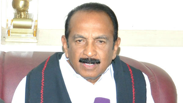 Vaiko slams PM Modi for speaking in Hindi at Parliament