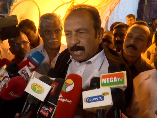 My voice will be heard in the States of India to defend the Tamil race and Tamil Nadu .. Vaiko interview