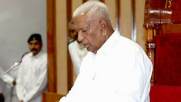 Karnataka governor sends report to delhi