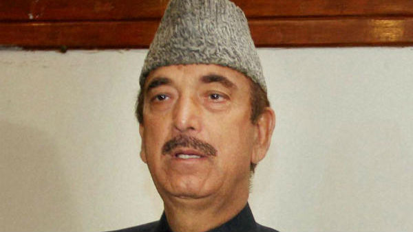 Lost a sister today says Ghulam Nabi Azad