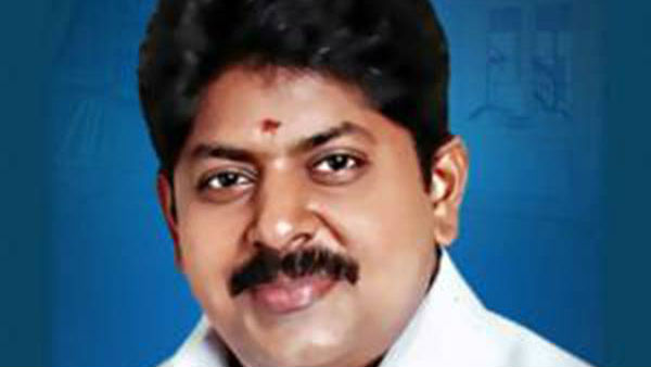 why minister manikandan removed from TN cabinat