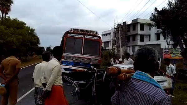 4 died in Road accident near Erode