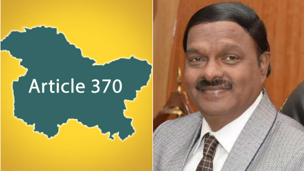 article 370 canceled at vellore election day on august , ac shanmugam worry