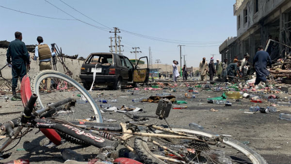 Bomb blast in Afghanistan kills 40 people and More than 100 injured