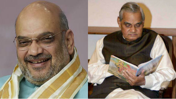 Amit Shah shifts to late PM Vajpayees residence at delhi