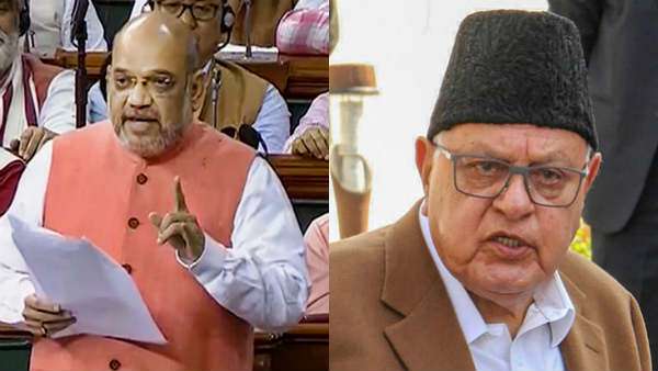 Farooq Abdullah at Home Out of His Will: Amit Shah