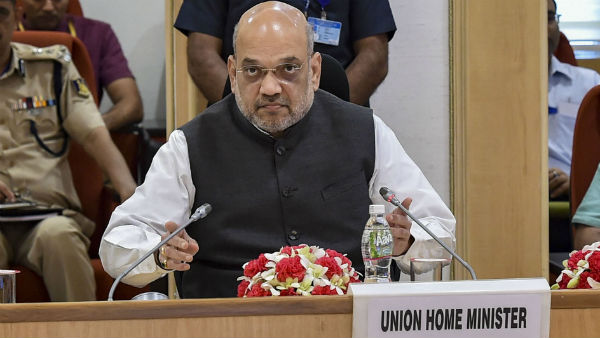 Amit Shah chairs meeting of CMs of Maoist-hit States
