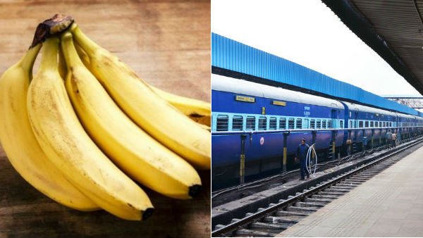 sale of bananas Banned at Lucknow Railway station