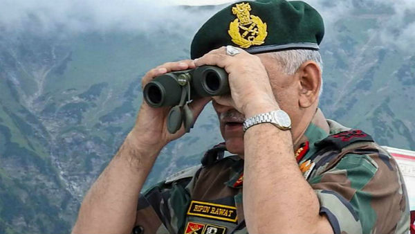 Army chief Bipin Rawat reviews security situation along LoC in Jammu Kashmir