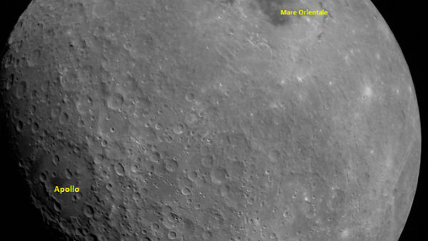 Take a look at the first Moon image captured by Chandrayaan2