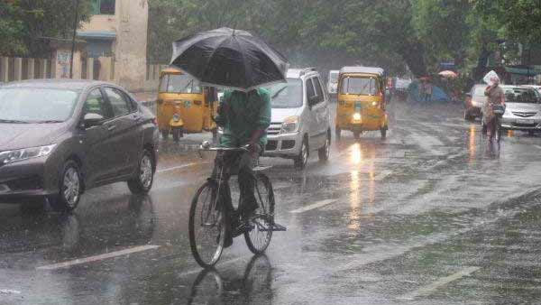 Chennai will get rain, Vellore received 17 cm of rain