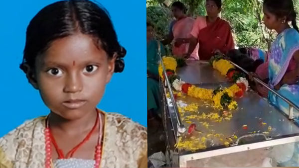 2 girls fell down and death rain flood near Vellore