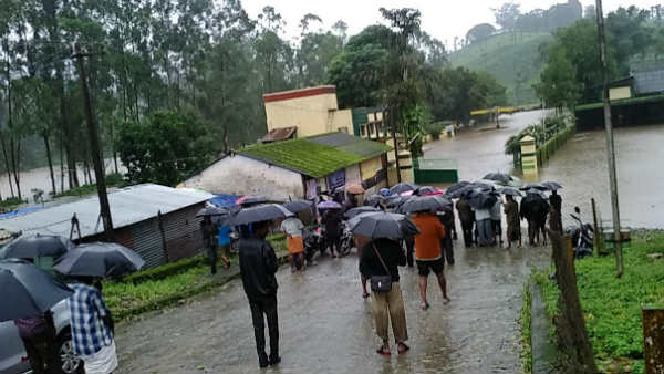 100 years of heavy rainfall in the Nilgiris Avalanche, 92 cm of rain in last 24 hours