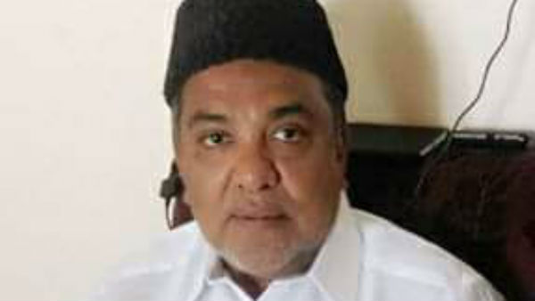 Indian Union Muslim League Puducherry State President Ahmed Zawahir Passed away