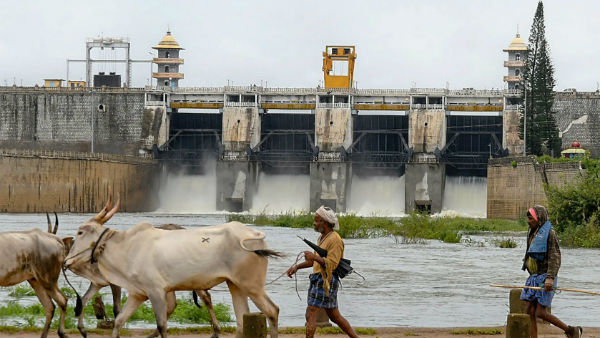 heavy inflows into the Kabini dam, so 40000 cusecs water released to Tamil Nadu