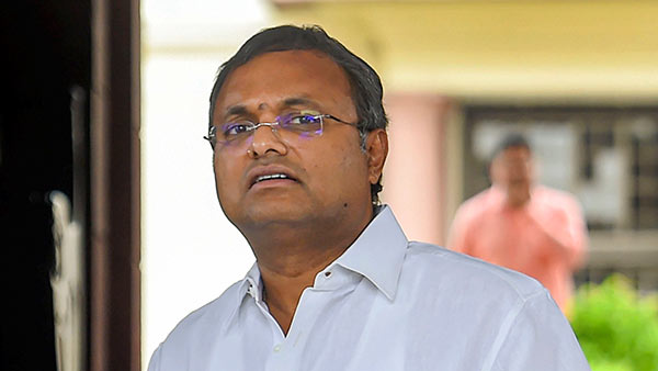 Madras HC rejects Karti Chidambaram Plea