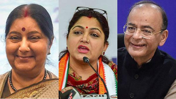 2 அருமையான தலைவர்களை அடுத்தடுத்து இழந்து விட்டோம்.. குஷ்பு வேதனை #Arunjaitley