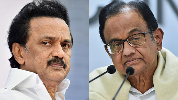 mk stalin condemned p chidambaram arrest by cbi in delhi