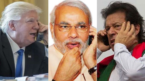 Trump calls up Modi, Imran on Jammu Kashmir issue
