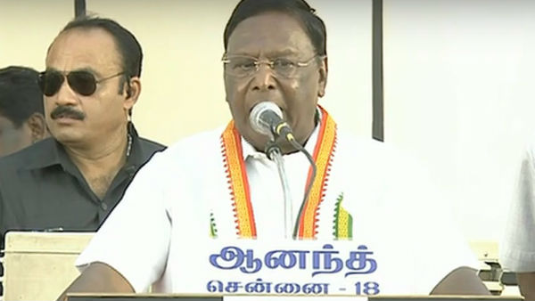 mamta banerjee is west bengal tiger: appreciated by puducherry chief minister narayanasamy