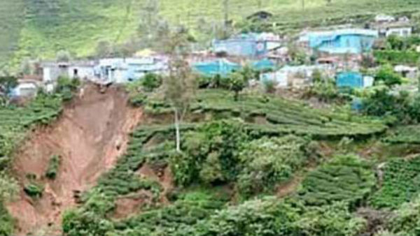 Homes hanging due to soil deterioration in Nilgiri District