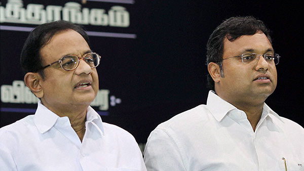 Aircel-Maxis deal: Delhi court extends protection from arrest to P Chidambaram, Karti