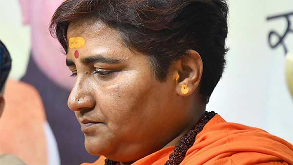 BJP issues gag order on Pragya Thakur