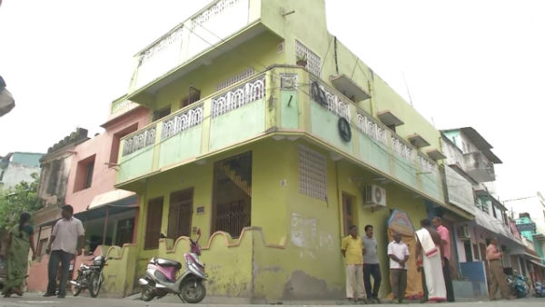 mysterious symbols on house walls create panic in Puducherry