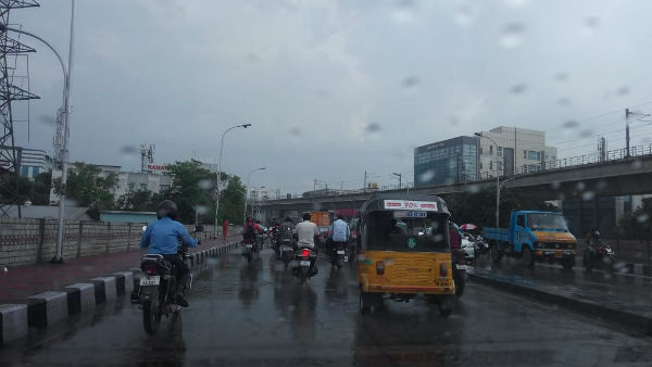 Raining In various places in Chennai and suburban areas