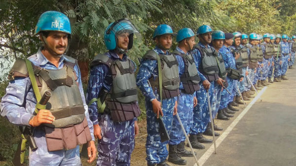 Rapid Action Force deployed in Kashmir