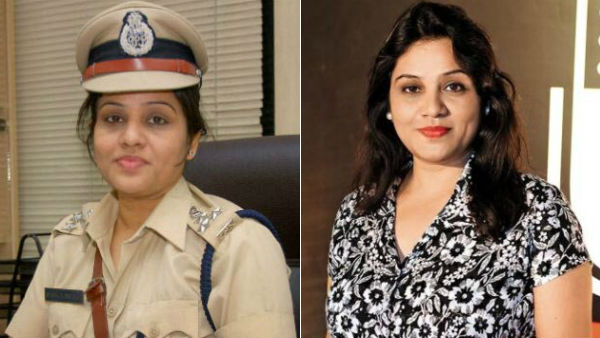 IPS Officer Roopa becomes Play back Singer