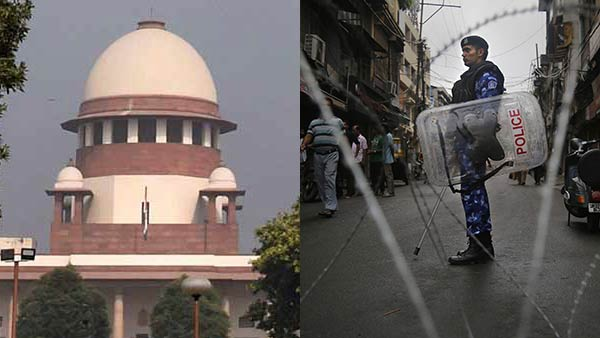 SC refuses to pass immediate directions on lifting restrictions in J&K
