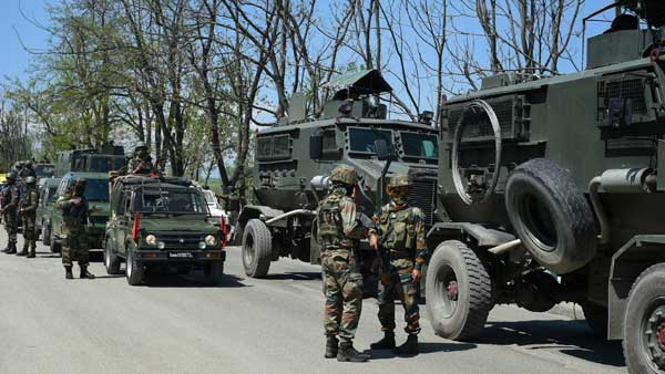 An encounter is underway between security forces and terrorists in Baramulla