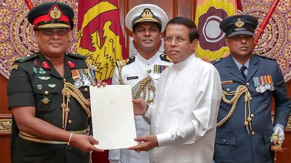 Sri Lanka Names Controversial Field Commander Shavendra Silva As Army Chief