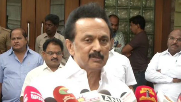 DMK Chief Stalin Opposes the removal of 370 in Kashmir