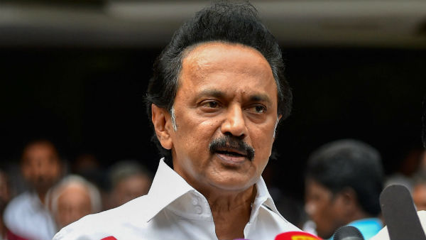 MK.Stalin said that political vendetta is the reason for the actions on P Chidambaram