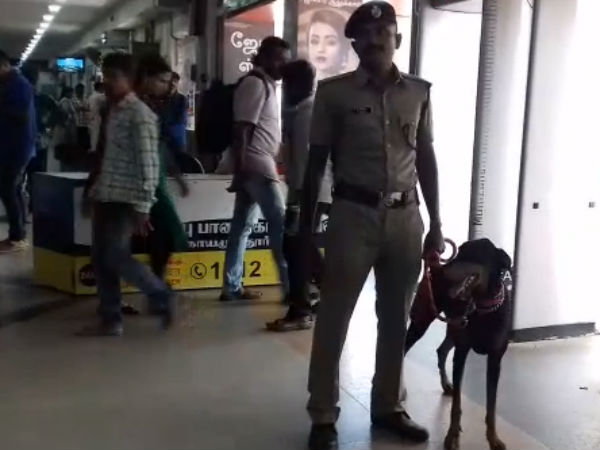 Heavy police security to Coimbatore