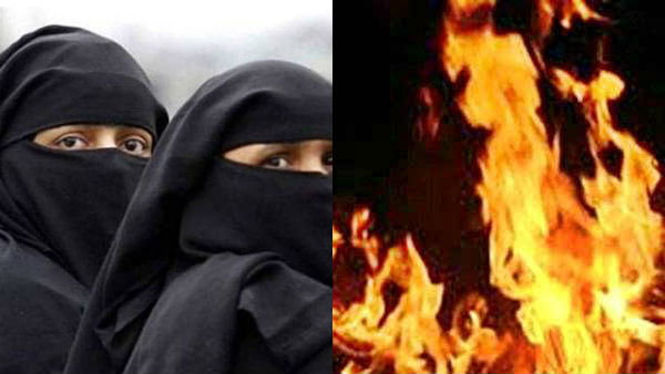 A man killed her wife and set on her blaze for not accepting Triple Talaq