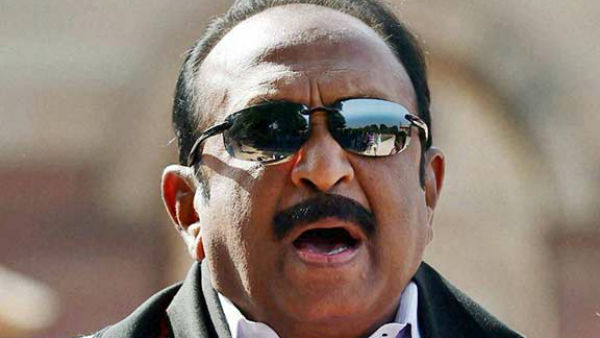MDMK MP Vaiko admitted in Madurai Hospital